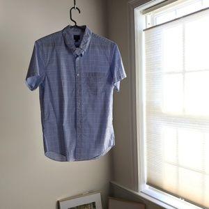 J.Crew Short Sleeve Button Down Shirt